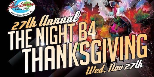 The Night B4 Thanksgiving