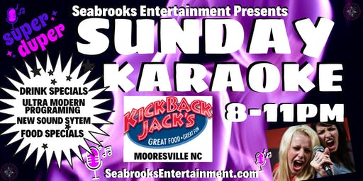 "SEABROOKS KARAOKE & COCKTAILS: YOUR WEEKEND ""WINE-DOWN"" EVENT! :))"