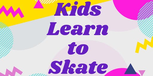 KIDS BEGINNING LEARN TO SKATE CLASS AT DREAMLAND ROLLER RINK CITY PONT (7+)