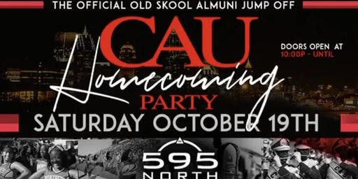 THE OFFICIAL 2019 CAU HOMECOMING JUMPOFF: AN OLDSKOOL ALUMNI PARTY