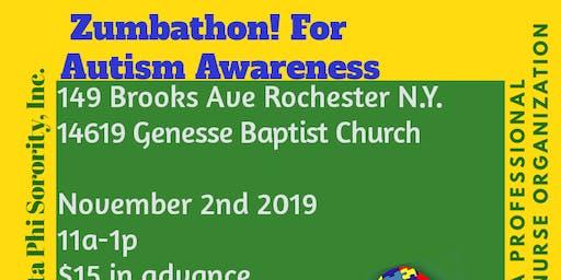 Beta Chi Chi 's Zumbathon! For Autism Awareness