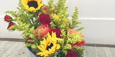 Thanksgiving Centerpieces at Public Services Wine & Whisky