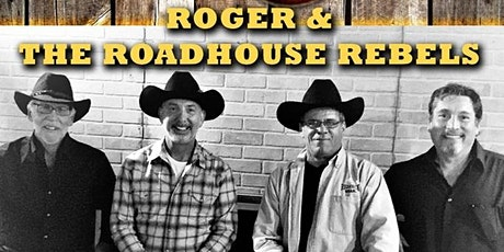 Roger and The Roadhouse Rebels, Live Country Music tickets
