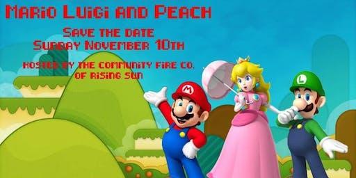 Breakfast with Mario, Luigi & Princess Peach