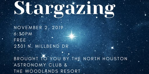 Stargazing at The Woodlands Resort