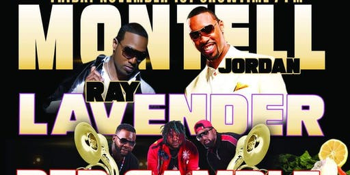 Dinner & a Show w/ Montell Jordan, Ray Lavender & The Red Sample Band Live