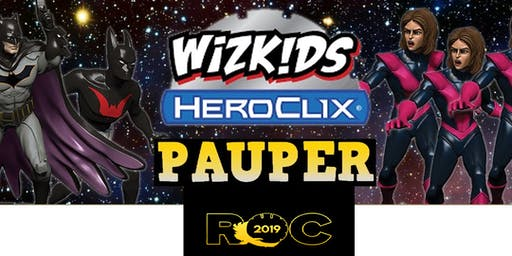 HeroClix ROC Pauper Tournament