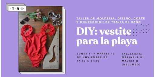Talleres Club TRI: DIY. Vestite para la playa