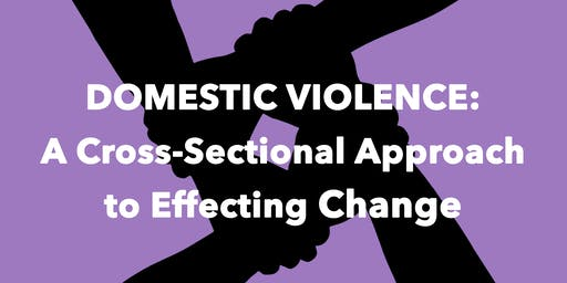 Domestic Violence: A Cross-Sectional Approach to Effecting Change