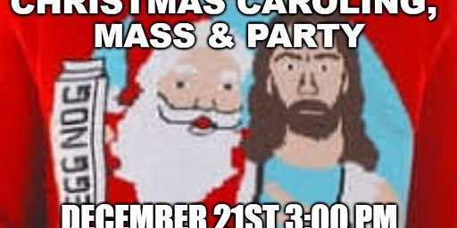 SKD Youth Group Christmas Caroling, Mass and Party