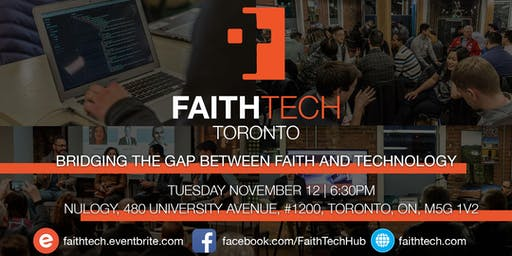 FaithTech Toronto November Meetup