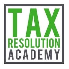 Tax Resolution Academy® Live Events logo