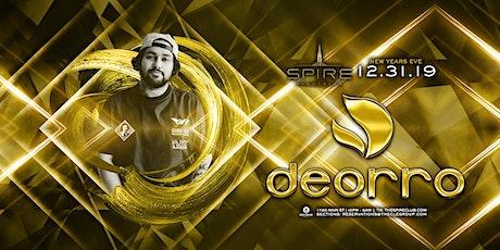 Deorro / Tuesday December 31st / Spire tickets