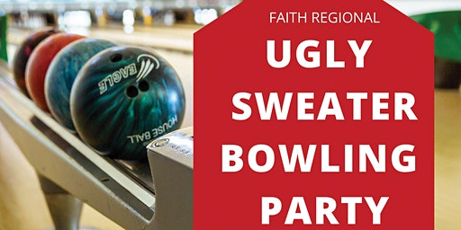 Ugly Sweater Bowling Party 2019