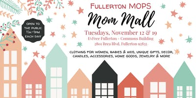 MOPS Mom Mall Holiday Shopping Boutique
