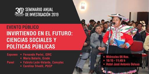 Invirtiendo en el futuro: Ciencias Sociales y Políticas Públicas