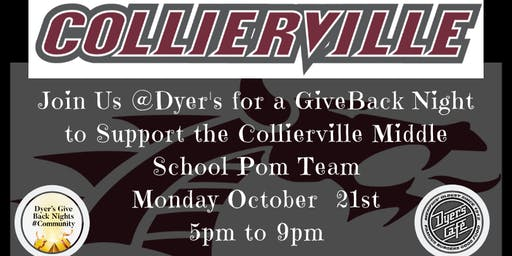 Dyer's Give Back Monday in Support of Collierville Middle School Pom Team