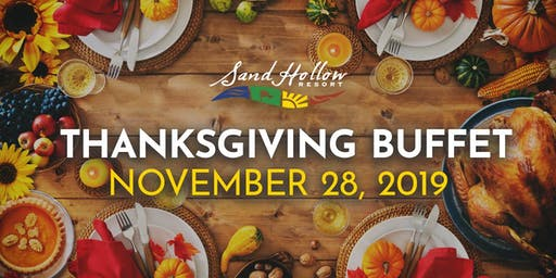 Thanksgiving Buffet at Sand Hollow Resort