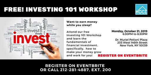 Free Investing 101 Workshop