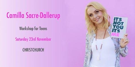 DWTS Head Judge Camilla Sacre-Dallerup - Teen Workshop (CHRISTCHURCH) tickets