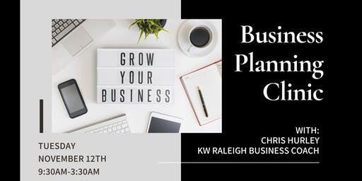 Business Planning Clinic with Chris Hurley