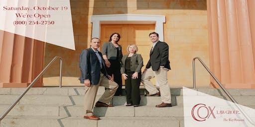 Bankruptcy and Debt Relief:  Saturday, Oct 19th- Lynchburg, VA