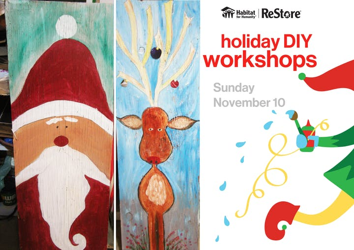 Christmas Art.Diy Christmas Art Workshop