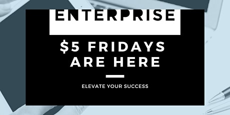 $5 Friday's at Enterprise Coworking in Greenwood Village tickets