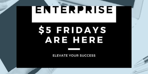$5 Friday's at Enterprise Coworking in Greenwood Village