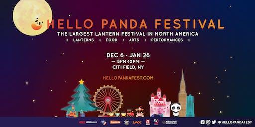 Hello Panda Festival @ CITI FIELD - The Largest Lantern Festival In North America