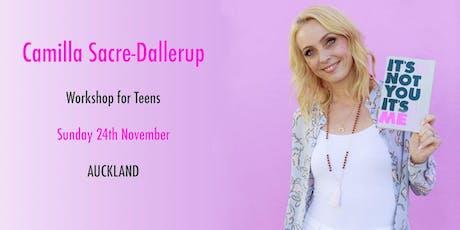 DWTS Head Judge Camilla Sacre-Dallerup - Teen Workshop (AUCKLAND) tickets