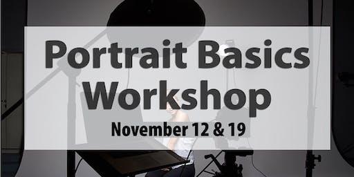Portrait Photography Basics - 2 part workshop