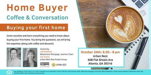EAV Homebuyer Workshop - Free Coffee - Learn how to buy your first home!