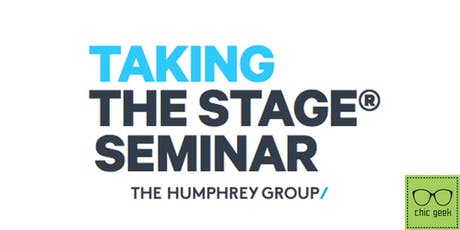 Taking The Stage Seminar tickets