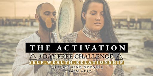 THE ACTIVATION | FREE 3 Day Online Challenge