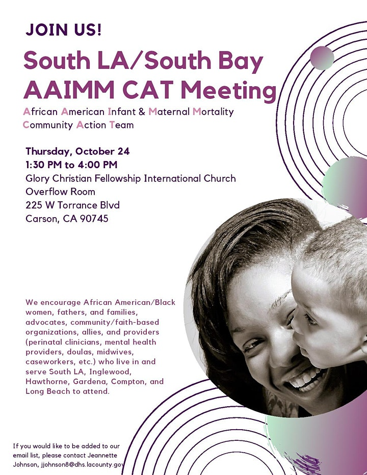 South LA/South Bay AAIMM CAT Meeting image