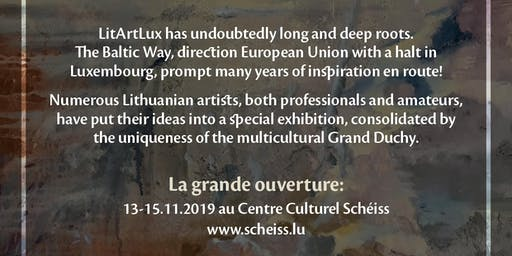 """Art exposition of Lithuanian artists in Luxembourg """"EN ROUTE"""""""