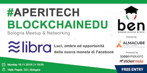 BOLOGNA - Meetup #AperiTech di Blockchain Education Network Italia