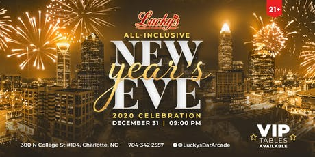 All Inclusive New Year's Eve at Lucky's tickets