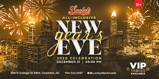 All Inclusive New Year's Eve at Lucky's