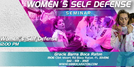Free Women's Self-Defense Class