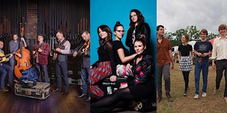 Back Porch Bluegrass w. The Travelin' McCourys, Della Mae & Hawktail at AOM tickets
