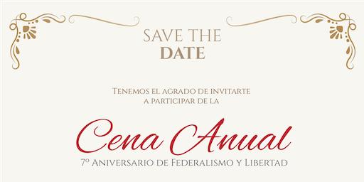 Cena Anual Federalismo y Libertad