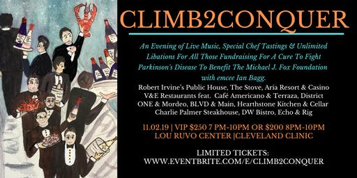 Climb2Conquer Gala To Benefit The Michael J. Fox Foundation