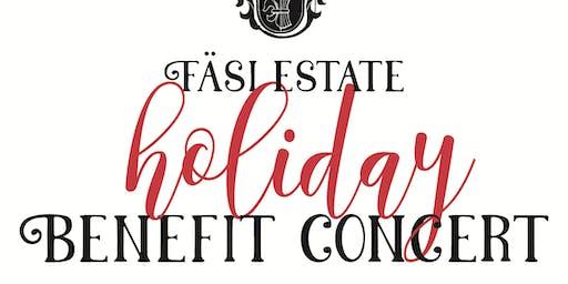 Fäsi Estate Holiday Benefit Concert