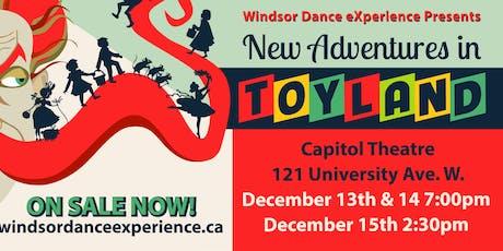 WDX: New Adventures in Toyland (Dance) tickets