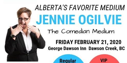Jennie Ogilvie - The Comedian Medium, LIVE in George Dawson INN , BC