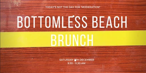Bottomless Beach Brunch