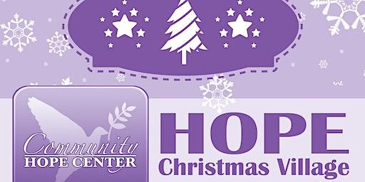 Hope Christmas Village 2019 - VOLUNTEER SIGN-UP