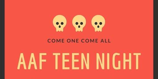AAF Teen Night